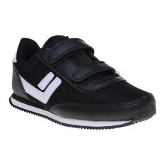 Ulasan League Legas Series Sanchez La Bts Vc Jr Lifestyle Shoes Hitam Putih