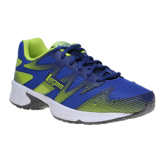 Review Tentang League Legas Series Shadow La M Sepatu Lari Pria Dazzling Blue Blue Depth Lime Punch