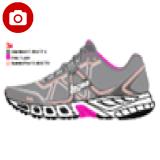 Harga League Legas Series Strakto La W Sepatu Lari Wanita Cloudburst Pink Flash Seashell Original