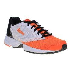 Beli League Legas Series Tracer La Sepatu Lari Pria Vibrant Orange Putih Murah