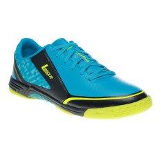 League Leviathan Sepatu Futsal - Capri Breze -Hitam-Volt