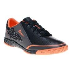 Toko League Leviathan Sepatu Futsal Hitam Dark Gull Grey Total O Online Terpercaya