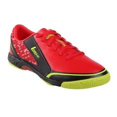 Jual League Leviathan Sepatu Futsal Pria Flame Scarlet Black Volt Lengkap