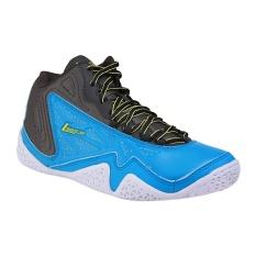 League Levitate Sepatu Basket Pria - Dresdent Blue/Beluga/Sulphur S