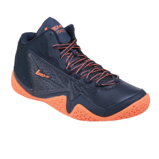 League Levitate Sepatu Basket Pria - Total Eclipse/ Total Orange