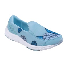 Ulasan League Luna Sneakers Olahraga Wanita Icy Moon Eggshell Blue Cana