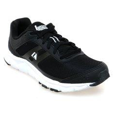 Obral League Phantom M Sepatu Lari Pria Hitam Putih Murah