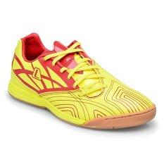 Penawaran Istimewa League Ramjet Diffuse Sepatu Futsal Kuning Merah Terbaru