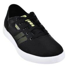 League Sepatu Kasual Floow - Hitam-Hijau