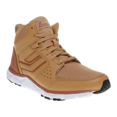 Toko League Sigli Sepatu Sneakers Honey Mustard Leather Brown Online Terpercaya