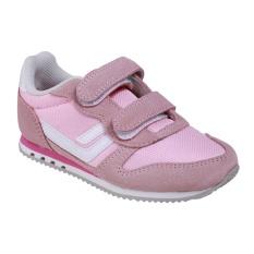 League STRV JR Sneakers Olahraga Anak-anak - Phlox Pink/Orchid Pink/White