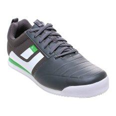 League Tyga C Series Sepatu Lari Pria - Gargoyle-Putih-Classic Green