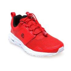 Spesifikasi League Vader M Sepatu Lari Flame Scarlet Putih Hitam Lengkap