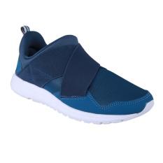 Ulasan League Vault Slip On Sepatu Lari Morrocan Blue Majolica Blue