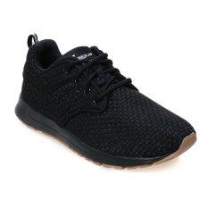 Promo League Vault Zero Tartan Sepatu Lari Pria Hitam Putih Gum Rubber League