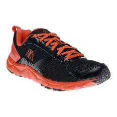 Harga League Ventura M Sepatu Lari Hitam Total Orange Putih Yang Murah Dan Bagus