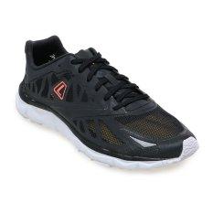 League Volans 2 Nocturnal Sepatu Lari Pria Black White Bright Manggo League Diskon 30
