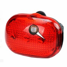 LED Sepeda Sepeda Gunung Tail Lamp LD-11 Cycle Rear-Light Reflector Aksesoris-Intl