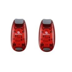 LED Safety Light (2 Pack) + Bonus GRATIS | Klip On Strobe/RunningLights untuk Pelari. Anjing. Bike. Jalan | Tinggi Terbaik VisibilityAccessories untuk Reflektif Anda Gear. Sepeda Dll-Intl