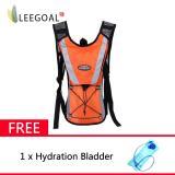 Ulasan Tentang Leegoal Hidrasi Ransel Backpack Penanjakan Kantong With Tas Kantong Air Oranye Intl