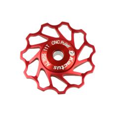 Promo Leegoal Kactus Joki Aluminium Roda Puli Belakang Derailleur Shimano Sram Merah Leegoal Terbaru