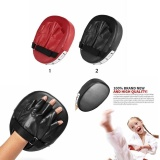 Obral Leegoal Karate Taekwondo Boxing Mitt Focus Punch Pad Combat Training Thai Kick Target Pads Red Intl Murah