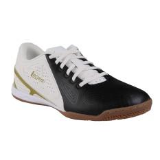Legas Defcon LA Sepatu Futsal Pria - Black/Star White/Burnished G