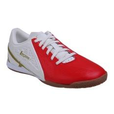 Legas Defcon LA Sepatu Futsal Pria - Fiery Red/Star White/Burnish