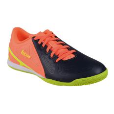 Legas Defcon LA Sepatu Futsal Pria - Total Eclipse/Bright Mango/V