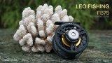 Spesifikasi Leo Fb75 Logam Penuh Terbang Ikan Gulung Roda Bekas Arung Jeram Es Penangkapan Ikan Hitam Merk Leo