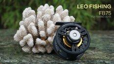 Jual Beli Leo Fb75 Logam Penuh Terbang Ikan Gulung Roda Bekas Arung Jeram Es Penangkapan Ikan Hitam