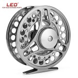 Diskon Produk Leo Fgk95 2 1 Ball Bearing Full Metal Spool Fly Fishing Reel Aluminum Alloy Wheel For Fish Accessory Intl