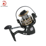 Toko Lieyuwang 12 1Bb Full Metal Fishing Spinning Reel With Exchangeable Handle Ga5000 Black Grey Intl Yang Bisa Kredit