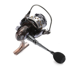 Review Lieyuwang 13 1Bb Full Metal Floral Pattern Fishing Spinning Reel With Exchangeable Handle Amber Intl Di Indonesia