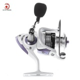 Jual Beli Lieyuwang 13 1Bb True 5 1Bb Full Metal Fishing Spinning Reel With Exchangeable Handle Pearl White Intl Tiongkok