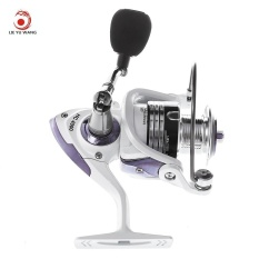 Jual Lieyuwang 13 1Bb True 5 1Bb Full Metal Fishing Spinning Reel With Exchangeable Handle Pearl White Intl Lieyuwang Di Tiongkok