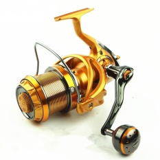 Berat Ringan Ultra Smooth Kuat Fishing Reel Golden 4000 Warna: Keemasan Ukuran: 9000.0