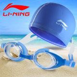Jual Li Ning Topi Dan Kacamata Renang Anak Anti Air Satu Set Branded Original