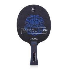 Lion Pola Tenis Meja Ping Pong Raket (Pegangan Panjang)-Intl