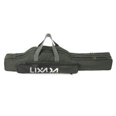 Review Lixada 100 Cm 130 Cm 150 Cm Fishing Bag Portable Folding Fishing Rod Reel Bag Fishing Pole Gear Tackle Alat Carry Case Pembawa Satu Tas Selempang Tas Biru Storage Bag Organizer Terbaru