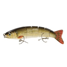 Spesifikasi Lixada 13Cm 19G Lifelike 6 Jointed Sections Trout Swimbait Fishing Lure Hard Bait Fish Hook Fishing Tackle Intl Yang Bagus Dan Murah