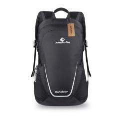 Lixada 15L Ringan Packable Backpack Tahan Air Lipat Outdoor Camping Hiking Bersepeda Perjalanan Praktis Daypack Tas-Intl