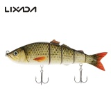 Harga Lixada 22Cm 25Cm Lifelike Multi Jointed 5 Segement Swimbait Hard Fishing Lure Bass Bait Intl Yang Murah