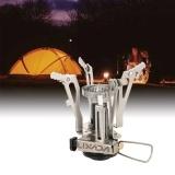 Penawaran Istimewa Lixada Ultralight Camping Dilipat Gas Kompor 3500 W Outdoor Pengapian Piezo Kompor Portable Portable Folding Gas Burner Intl Terbaru