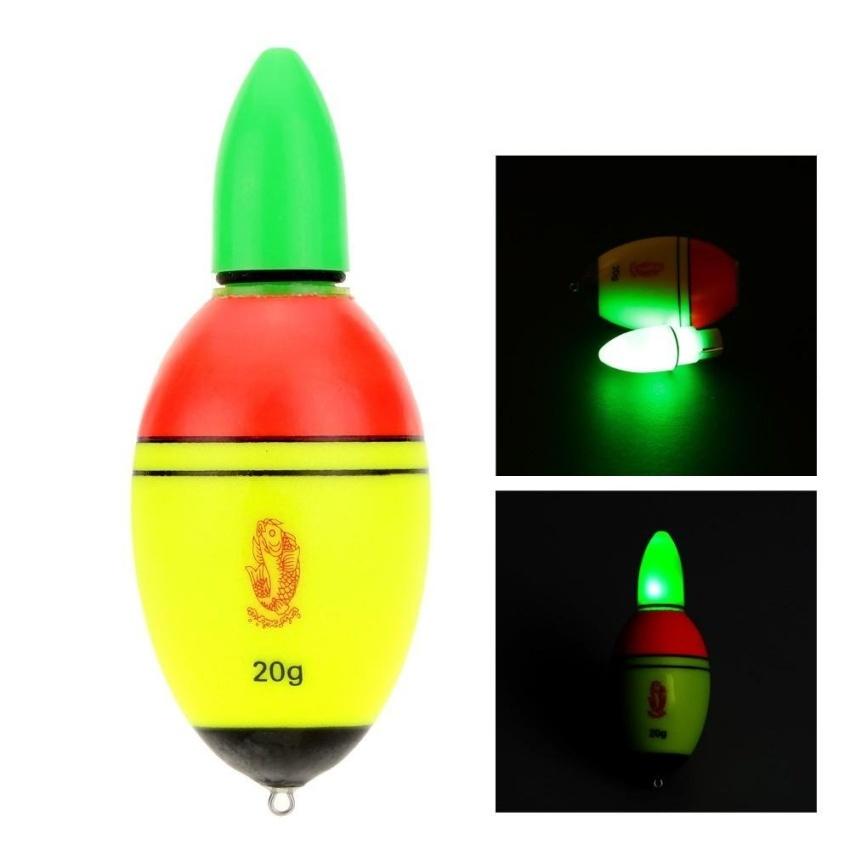 Harga preferensial Lls Pelampung Pancing EVA Lampu Elektronik Bobber dengan 2 Tombol Cellsfishing Mengatasi-Internasional