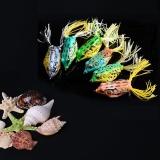 Katalog Lot 5 Pcs Cute Frog Fishing Lure Hooks Bass Umpan Kualitas Tinggi 5 Warna Intl Oem Terbaru