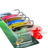 Spesifikasi Lot 5 Pcs Minnow Fishing Lures Floating Bass Umpan Crankbait Tackle Treble Kait Internasional Paling Bagus