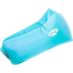 LoungeAir Inflatable Pool Float Lounger Blow Up Air Mattress Bed and Chair Requires No Air Pump Enjoy the Outdoors with This Air Lounge That is a Convenient Alternative to Portable Chairs - Blue - intl