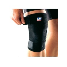 LP Support Closed Patella Knee LP-756 Hitam