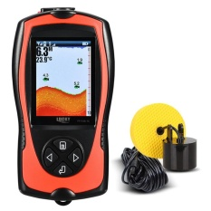 LUCKY FF1108-1CT Portable Fish Finder 100 M/300FT Kedalaman Ikan Alarm Wired Fish Detektor-Internasional